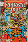 Cover for Fantastic Four (Marvel, 1961 series) #104 [British Price Variant]