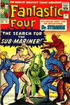 Cover for Fantastic Four (Marvel, 1961 series) #27 [British Price Variant]