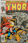 Cover for Thor (Marvel, 1966 series) #258 [British Price Variant]