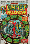 Cover for Ghost Rider (Marvel, 1973 series) #7 [British Price Variant]