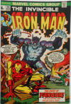 Cover for Iron Man (Marvel, 1968 series) #56 [British Price Variant]