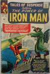 Cover for Tales of Suspense (Marvel, 1959 series) #54 [British Price Variant]