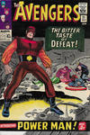 Cover for The Avengers (Marvel, 1963 series) #21 [British Price Variant]