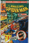 Cover Thumbnail for The Amazing Spider-Man (1963 series) #216 [British Price Variant]