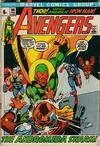 Cover for The Avengers (Marvel, 1963 series) #96 [British Price Variant]