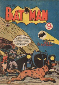 Cover Thumbnail for Batman (K. G. Murray, 1950 series) #63