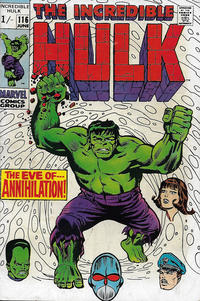 Cover Thumbnail for The Incredible Hulk (Marvel, 1968 series) #116 [British]