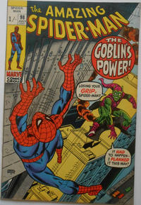 Cover Thumbnail for The Amazing Spider-Man (Marvel, 1963 series) #98 [British]
