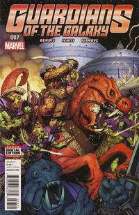 Cover Thumbnail for Guardians of the Galaxy (Marvel, 2015 series) #7