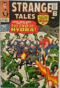 Cover for Strange Tales (Marvel, 1951 series) #140 [Regular Edition]