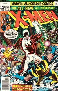 Cover Thumbnail for The X-Men (Marvel, 1963 series) #109 [British]