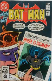 Cover for Batman (DC, 1940 series) #336 [Newsstand]