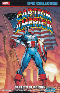 Cover Thumbnail for Captain America Epic Collection (Marvel, 2014 series) #16 - Streets of Poison