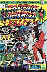 Cover Thumbnail for Captain America (Marvel, 1968 series) #189 [British]
