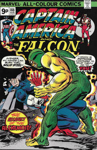 Cover Thumbnail for Captain America (Marvel, 1968 series) #188 [British]
