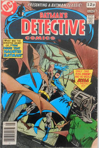Cover Thumbnail for Detective Comics (DC, 1937 series) #477 [British]