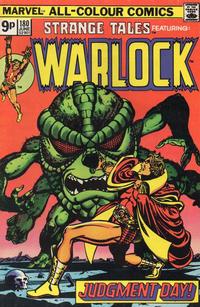 Cover Thumbnail for Strange Tales (Marvel, 1973 series) #180 [British Price Variant]
