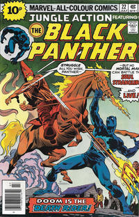 Cover Thumbnail for Jungle Action (Marvel, 1972 series) #22 [British]