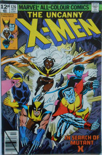 Cover Thumbnail for The X-Men (Marvel, 1963 series) #126 [British]