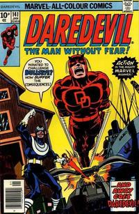 Cover for Daredevil (Marvel, 1964 series) #141 [Regular Edition]