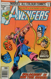 Cover Thumbnail for The Avengers (Marvel, 1963 series) #172 [British]