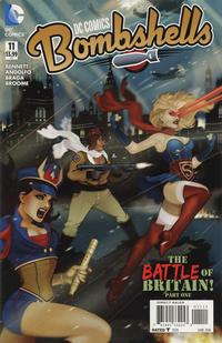 Cover Thumbnail for DC Comics: Bombshells (DC, 2015 series) #11