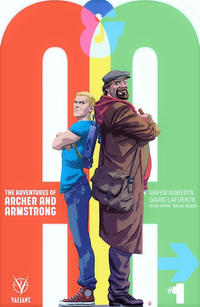 Cover Thumbnail for A&A: The Adventures of Archer & Armstrong (Valiant Entertainment, 2016 series) #1 [Cover B - Kano]