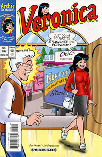 Cover Thumbnail for Veronica (Archie, 1989 series) #137 [Direct Edition]