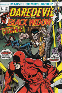 Cover Thumbnail for Daredevil (Marvel, 1964 series) #104 [British]