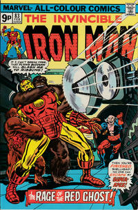 Cover for Iron Man (Marvel, 1968 series) #83 [Regular Edition]