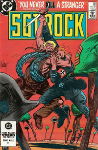 Cover Thumbnail for Sgt. Rock (DC, 1977 series) #385 [Direct]
