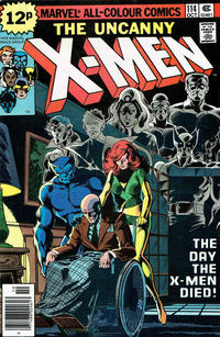 Cover for The X-Men (Marvel, 1963 series) #114 [Regular Edition]