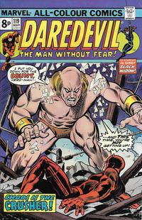 Cover Thumbnail for Daredevil (Marvel, 1964 series) #119 [British]
