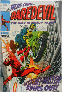 Cover Thumbnail for Daredevil (Marvel, 1964 series) #58 [British]