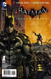 Cover Thumbnail for Batman: Arkham Knight (DC, 2015 series) #1