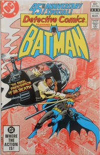 Cover Thumbnail for Detective Comics (DC, 1937 series) #512 [Direct Sales]