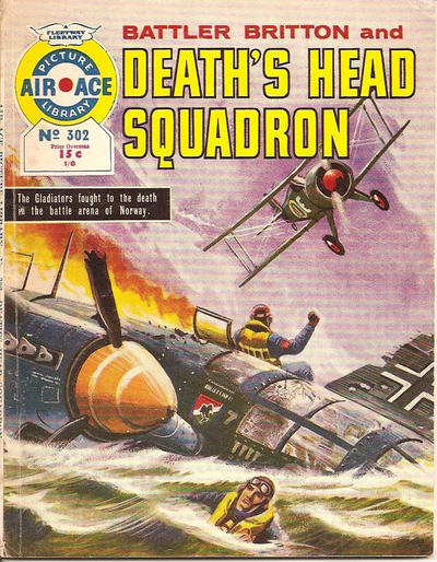 Cover for Air Ace Picture Library (IPC, 1960 series) #302