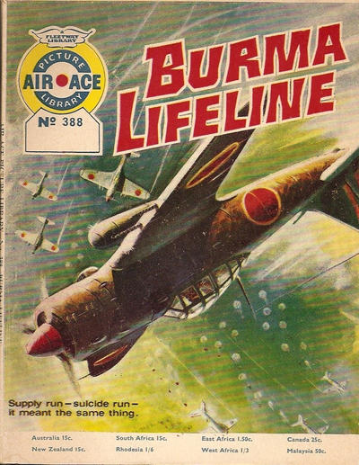 Cover for Air Ace Picture Library (IPC, 1960 series) #388