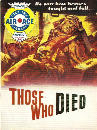 Cover for Air Ace Picture Library (IPC, 1960 series) #107