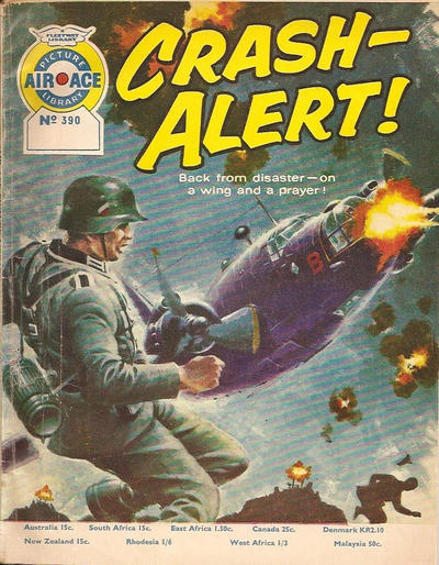 Cover for Air Ace Picture Library (IPC, 1960 series) #390