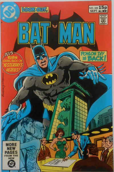 Cover for Batman (DC, 1940 series) #339 [Newsstand Edition]