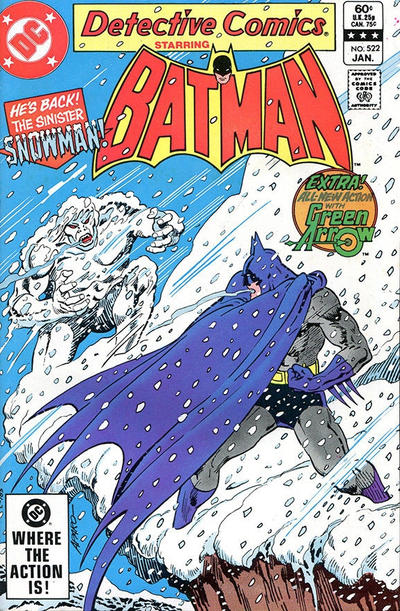 Cover for Detective Comics (DC, 1937 series) #522 [Direct Sales]