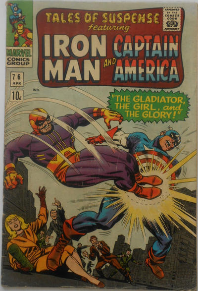 Cover for Tales of Suspense (Marvel, 1959 series) #76 [Regular Edition]