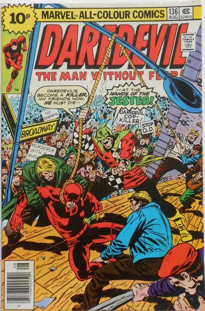 Cover for Daredevil (Marvel, 1964 series) #136 [30¢]