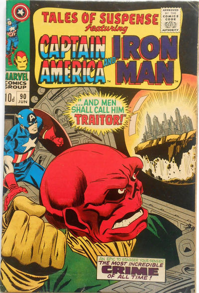 Cover for Tales of Suspense (Marvel, 1959 series) #90 [Regular Edition]
