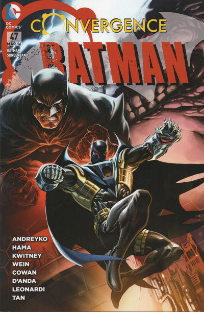Cover for Batman Sonderband (Panini Deutschland, 2004 series) #47 - Convergence