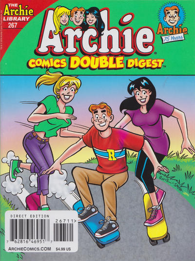 Cover for Archie Double Digest (Archie, 2011 series) #267