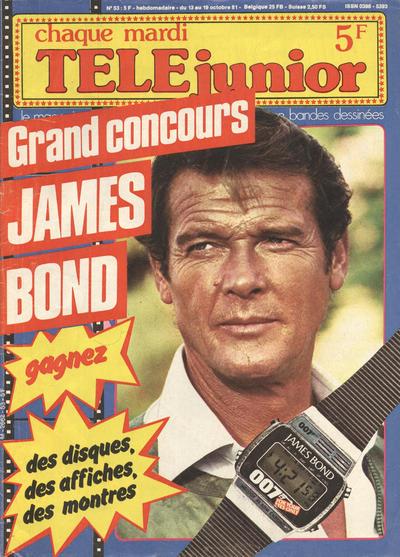 Cover for Télé Junior (Télé Junior, 1980 series) #53