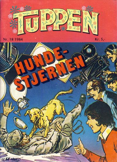 Cover for Tuppen (Serieforlaget / Se-Bladene / Stabenfeldt, 1969 series) #18/1984