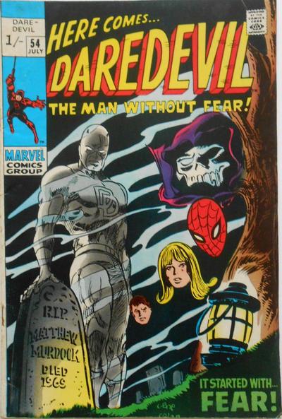 Cover for Daredevil (Marvel, 1964 series) #54 [Regular Edition]